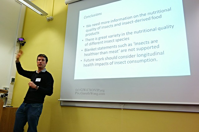 Peter Scarborough, on Are edible insects healthier than commonly consumed meats? from RAW _DSC9532