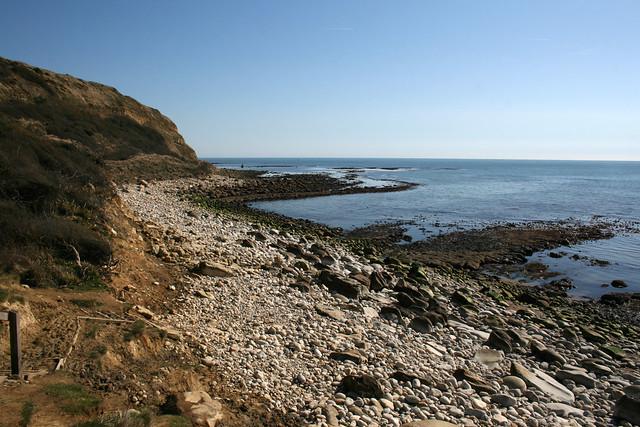 The beach at Osmington