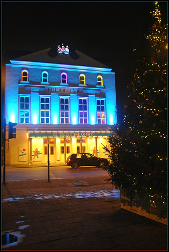 """The Old Vic Theatre"" London ""Christmas Tree"""