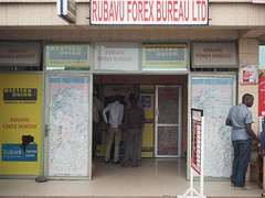 Foreign exchange bureau in Rwanda
