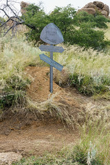 1609 Freshly Maintained Trail and Arizona Trail Sign