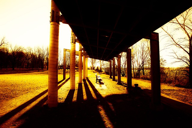 Long shadows shelter
