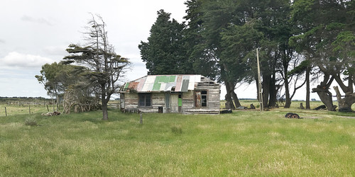 Old house, Woodend, Southland, NZ