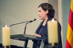 dj., 26/01/2017 - 19:42 - Ada Colau participa a l'acte institucional amb motiu del Dia Internacional de les víctimes de l'Holocaust