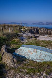 Bild av Praia da Fontaíña Fontaiña Beach. españa spain galicia galiza europe europa praia de frechiño beach playa ria vigo atlántico atlantic