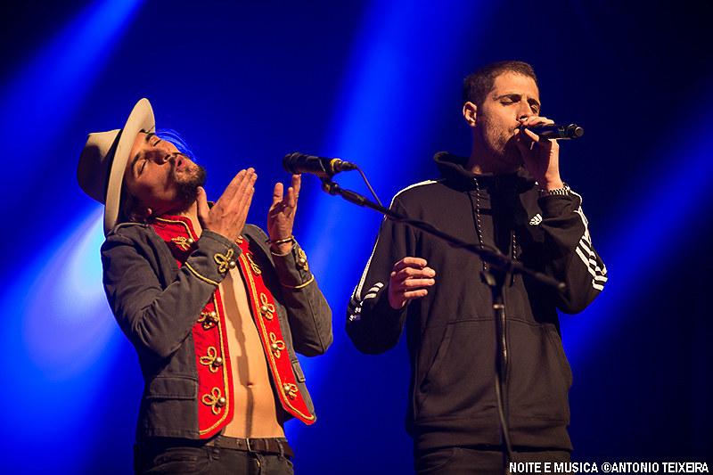 The Black Mamba e Richie Campbell - Coliseu do Porto '17
