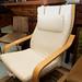 Beech framed bentwood chair