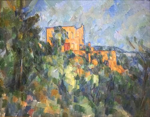 Château noir de P. Cézanne (Musée national Picasso, Paris)