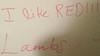 20160729 - whiteboard - close-up of I Like Red - IMG_1019
