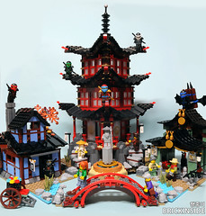 LEGO NINJAGO 70751 : Temple of Airjitzu