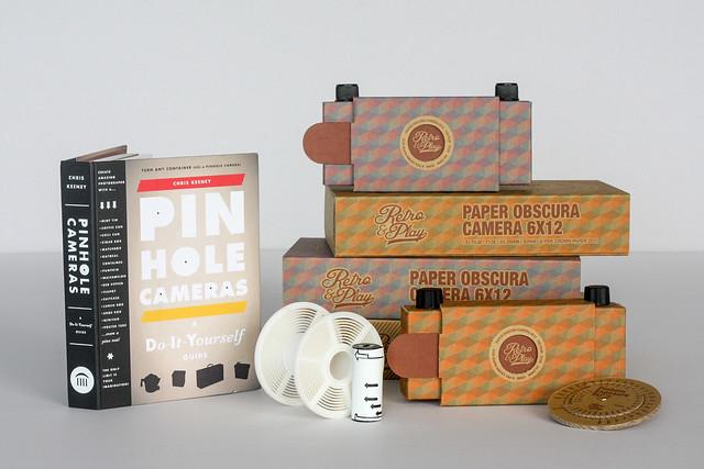 Paper Obscura Pinhole Camera 6x12