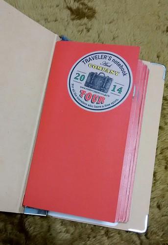 使い終わった手帳はバインダーへ保管