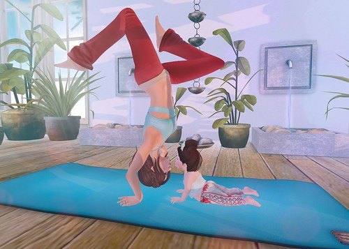 yoga with mommy ɞ