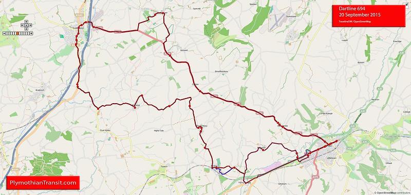 Dartline route-694
