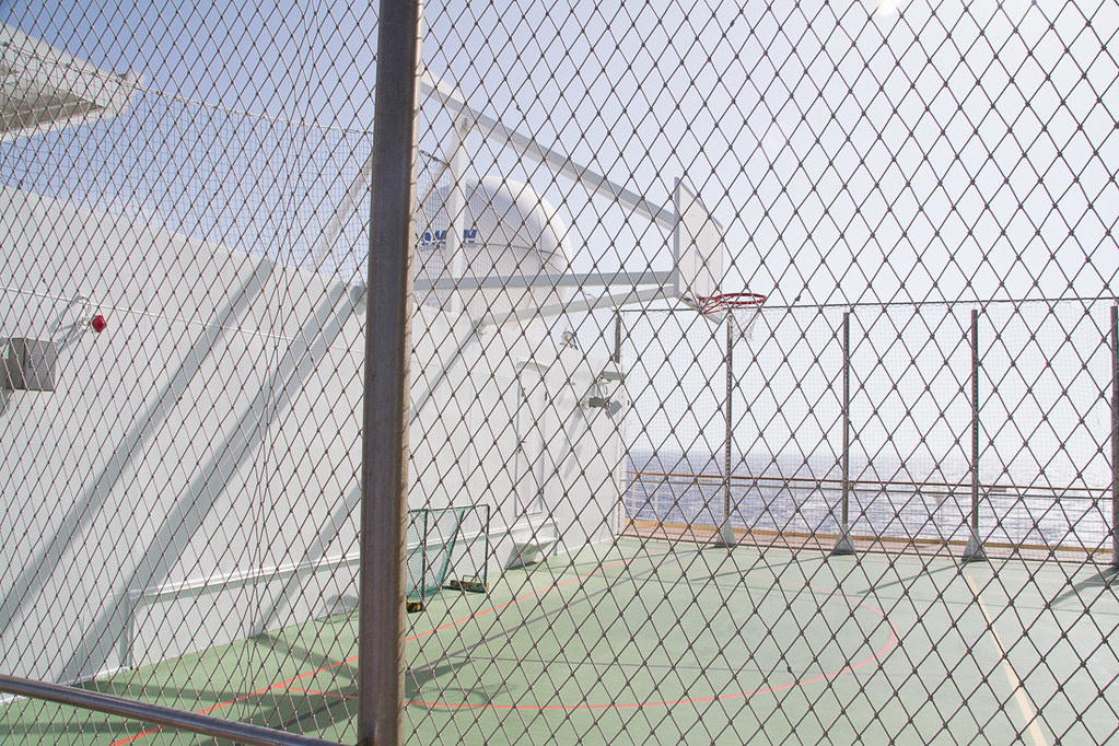 Basketball and hockey nets