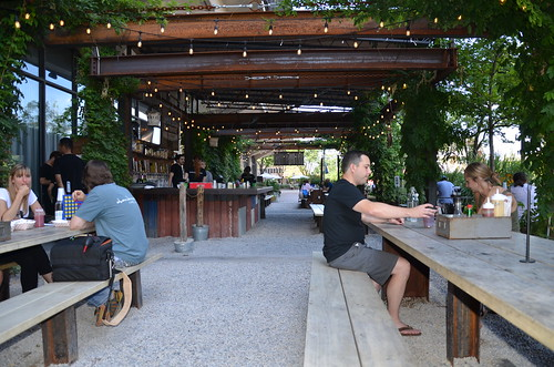 Philadelphia Independence Square Beer Garden Aug 15