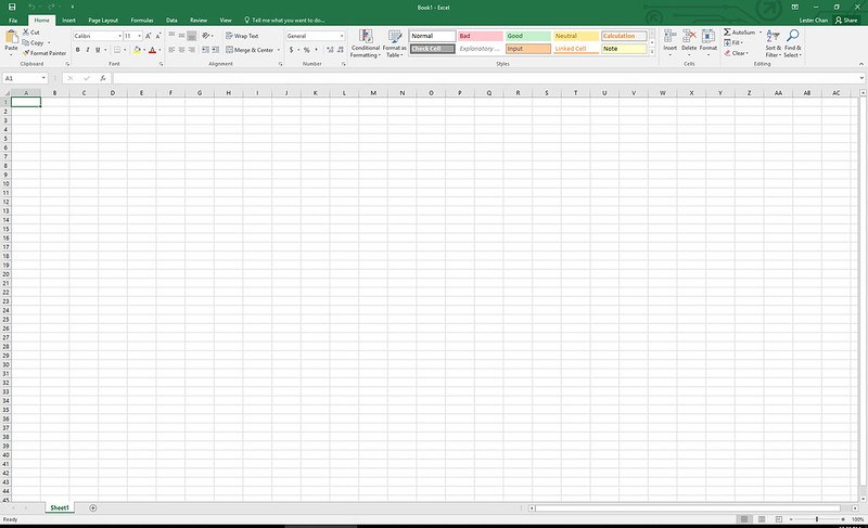 Excel – Microsoft Office 2016 For Windows