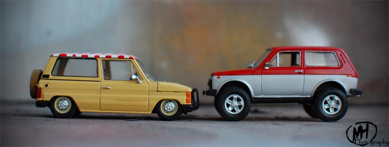 custom | scale | car: NIVA | lifted