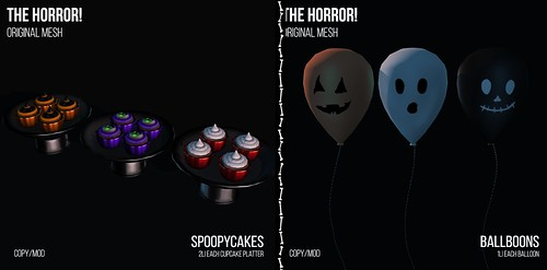 The Horror!~ Spoopycakes/ Balboons @ The Nightmare