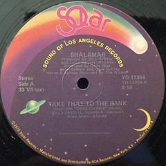 SHALAMAR:TAKE THAT TO THE BANK(LABEL SIDE-A)
