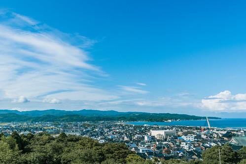 ocean park travel sea sky cloud japan toyama himi