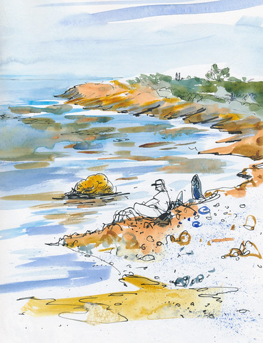 Sketchbook #92: Point Lobos - Part 1