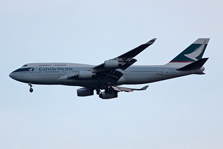 Cathay Pacific Airways Boeing 747-467 B-HOX