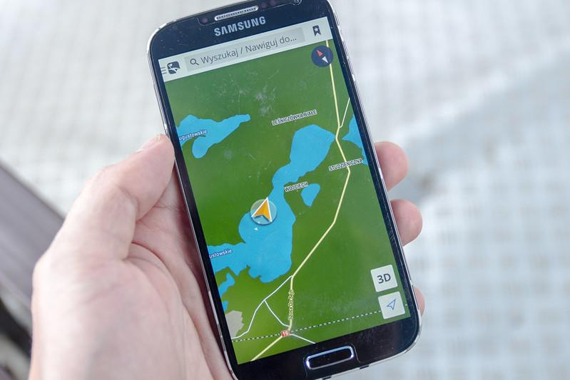GPS navigation- Kanał Augustowski
