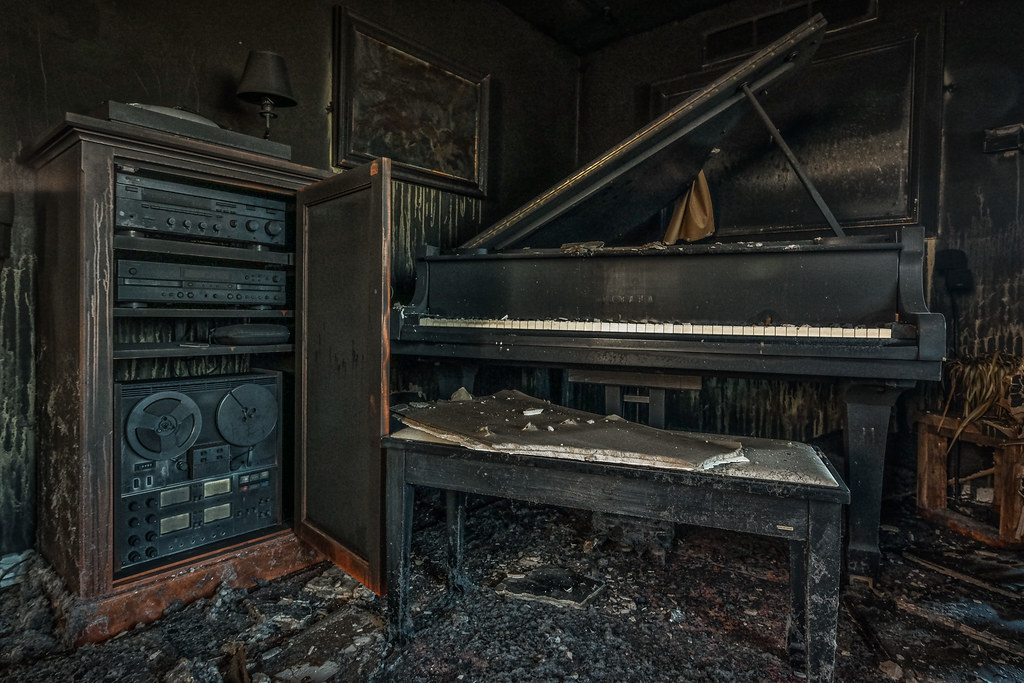 The Fire: The Music Room Piano