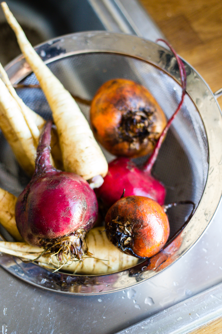 beets + parsnips