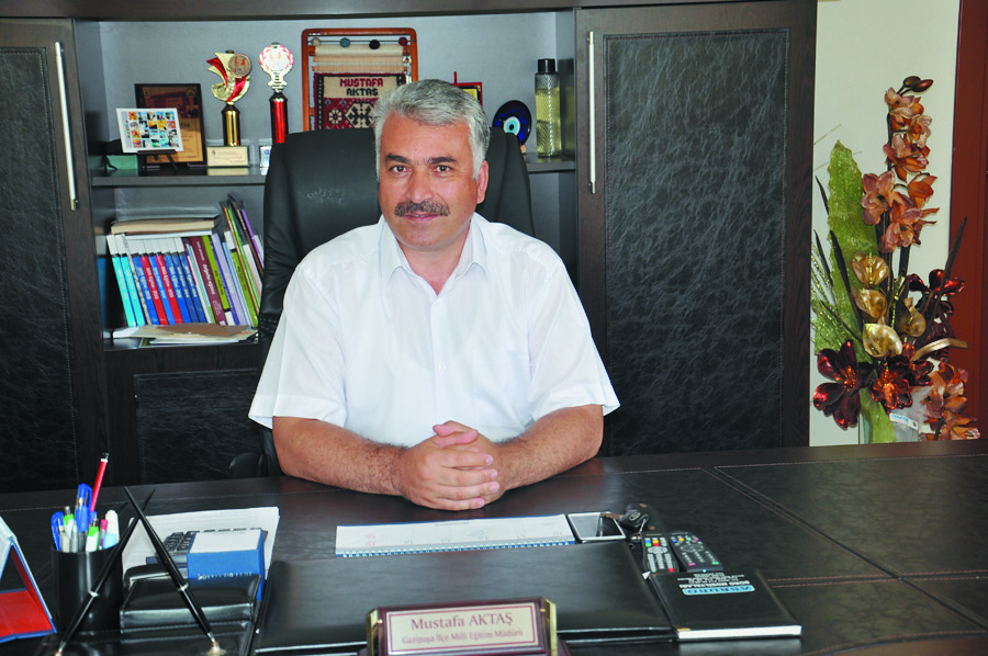 İlçe Milli Eğitim Müdürü Mustafa Aktaş