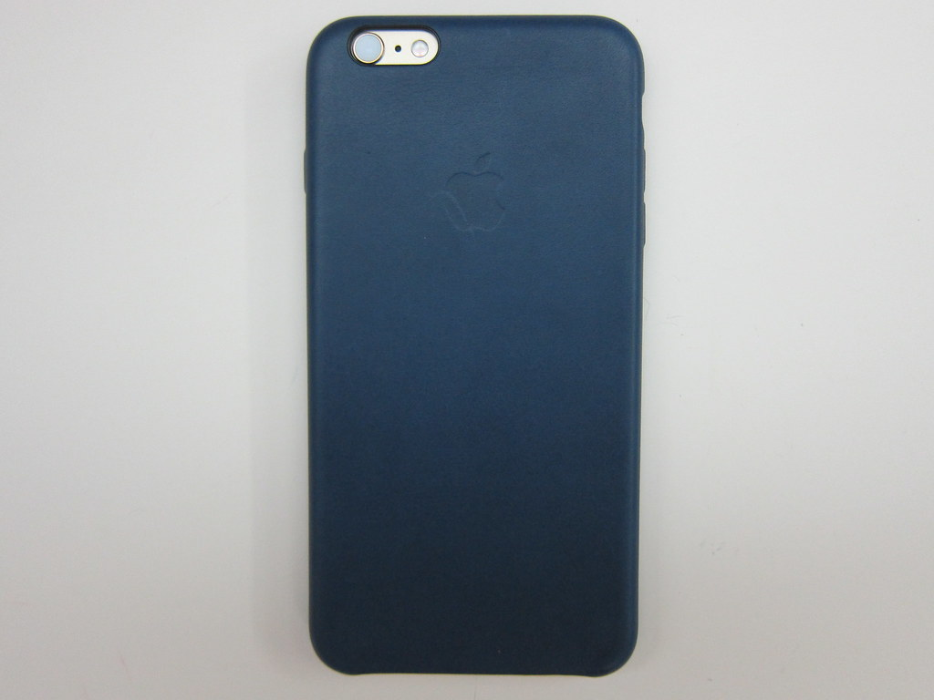 san francisco dd1bb 08b95 Apple iPhone 6s Plus Leather Case (Midnight Blue) - With i… | Flickr