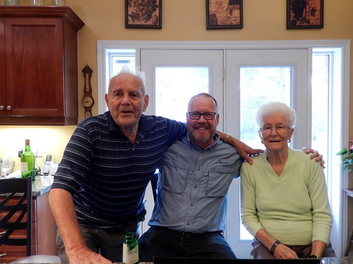 Queensville - met tante Teresa en oom Dirk