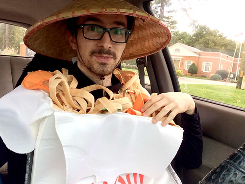 Takeout Costume (2) (October 31 2014)