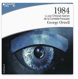 orwell 1984 audible