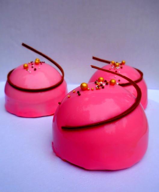Raspberry & Coconut Entremets