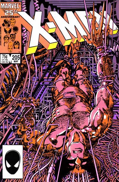 Uncanny X-Men 205, Cover