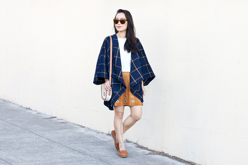 01-plaid-poncho-suede-grommet-skirt