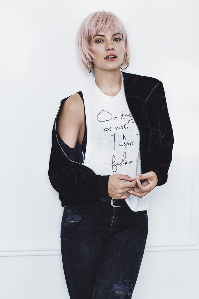 Лили Аллен — Фотосессия для «Vero Moda» Зима 2015 – 11