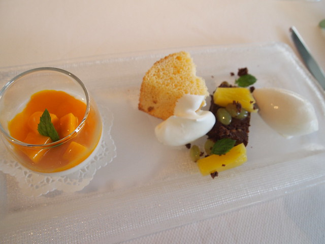 P7100055 GEORGES MARCEAU(ジョルジュ マルソー) 福岡 ランチ フランス料理