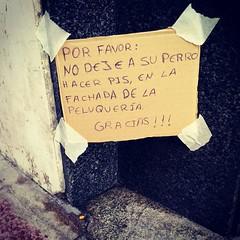 Mensaje callejero