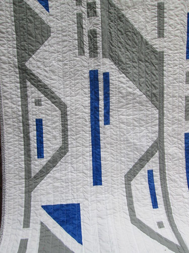 Droid Quilt - Close up