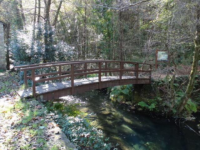 Puente en la Senda da Ventureira
