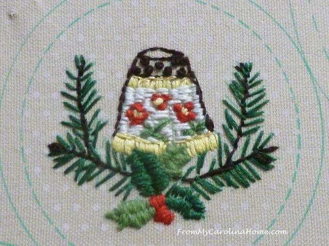 Slow Stitching week 6 - 1