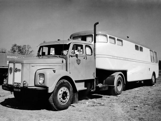 Дом на колесах Scania-Vabis L76 Super. 1967 год