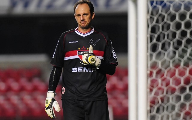 Fora do jogo dos treinos, Rog�rio Ceni n�o deve enfrentar o Figueirense