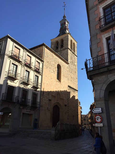Iglesia San Miguel, Segovia, Spain
