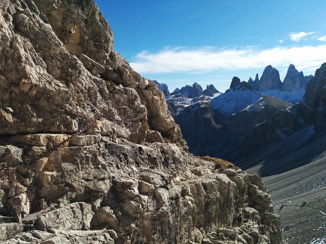 Um den Berg herum, Aufstieg zum Hochebenkofel