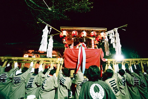 display of the mikoshi