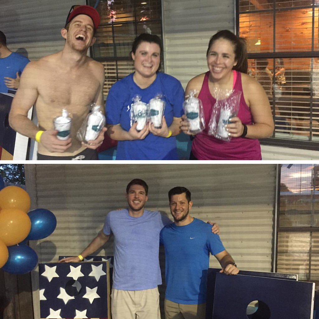 Volleyball + Beanbags winners 2016 Serve the Thirsty event